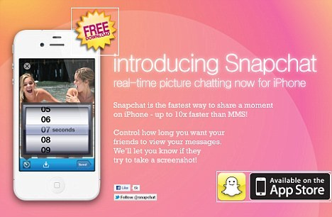 SnapChat App - Instant Photo Sharing Or Instant Embarrassment?